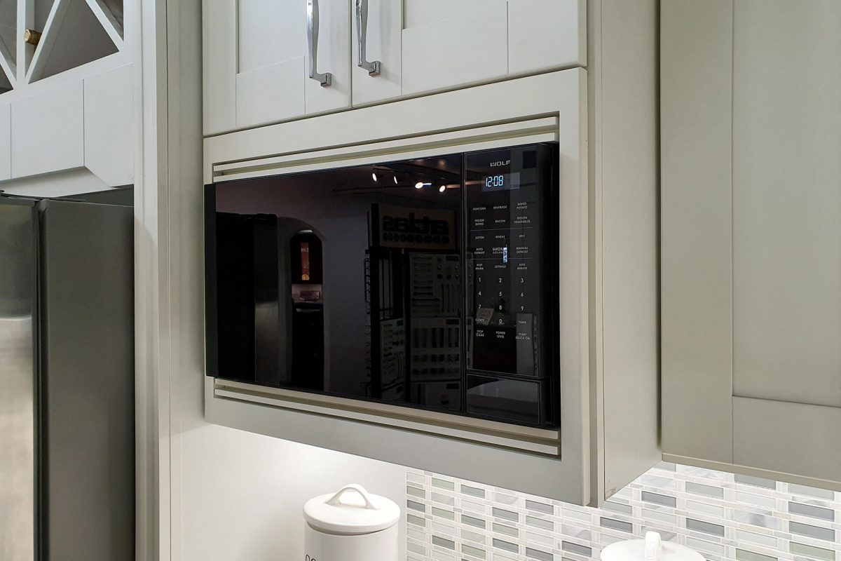 Built-in Microwave Cabinets